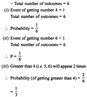 Selina Concise Mathematics class 7 ICSE Solutions - Probability-9a