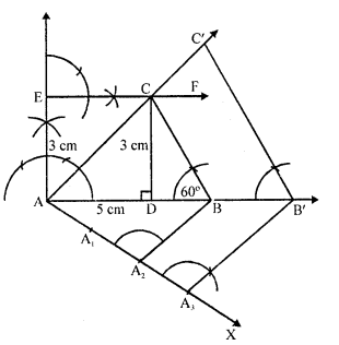 RD Sharma Class 10 Solutions Chapter 9 Constructions Ex 9.2 -17