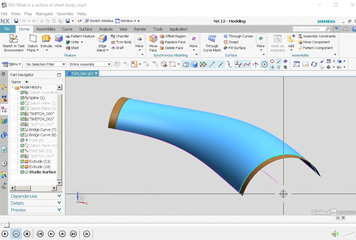 Learning Siemens NX 12 Surfacing