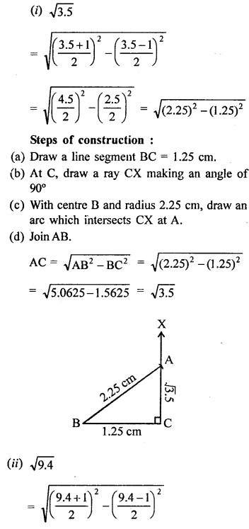 Number System Class 9 RD Sharma Class 9 Solutions