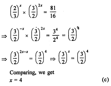 RD Sharma Class 9 Solutions Chapter 2 Exponents of Real Numbers MCQS - 15a