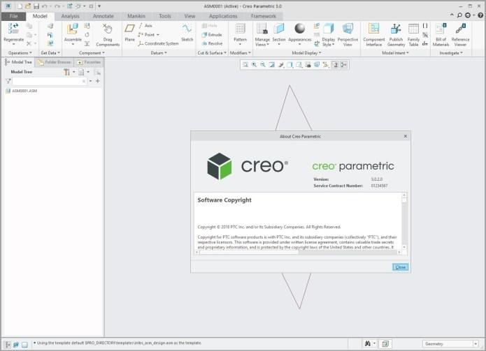 Design with PTC Creo parametric 5.0.2.0 x64 full license