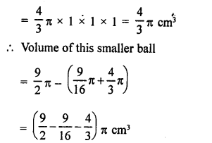 RD Sharma Math Solution Class 9 Chapter 21 Surface Areas and Volume of a Sphere