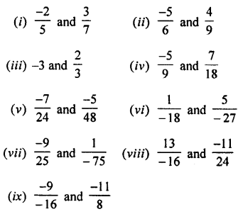 Selina Concise Mathematics class 7 ICSE Solutions - Rational Numbers-c2