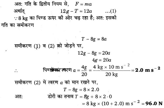 UP Board Solutions for Class 11 Physics Chapter 5 Laws of motion 19