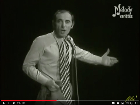 18j01 Charles Aznavour Je me voyais déjà