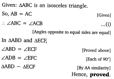 study rankers class 10 maths Chapter 6 Triangles 44