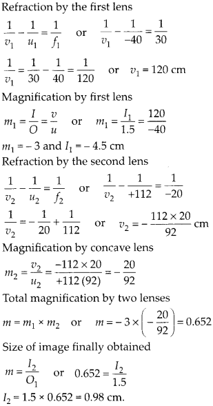 NCERT Solutions for Class 12 Physics Chapter 9 Ray Optics and Optical Instruments 55