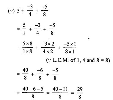 Selina Concise Mathematics class 7 ICSE Solutions - Rational Numbers-c4.....
