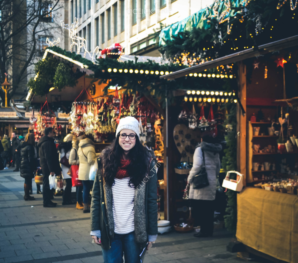 Mercadillo de Navidad de Múnich en Neuhauser Straße