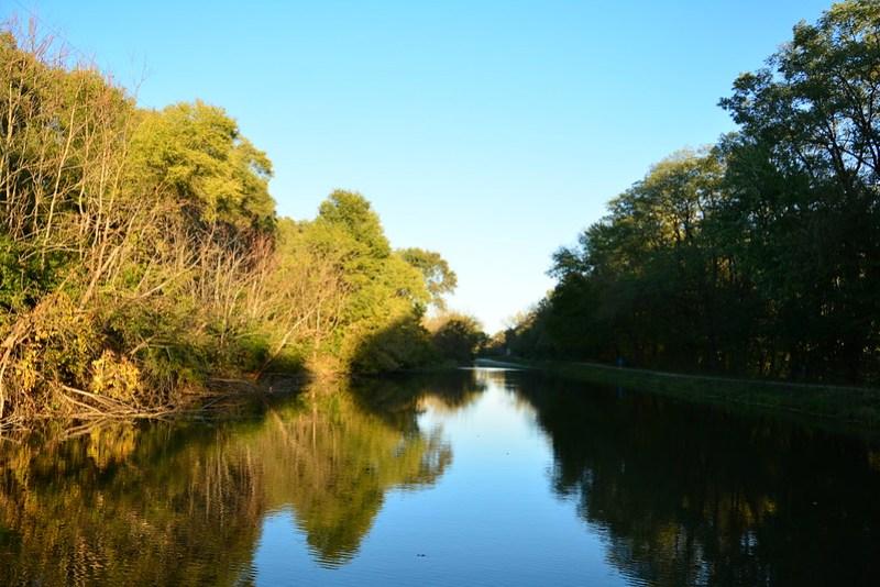 Illinois & Michigan Canal through LaSalle, Illinois