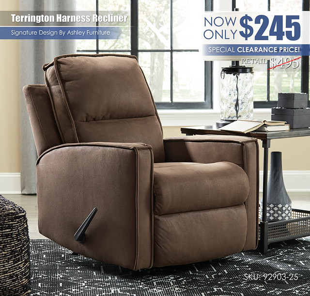 Terrington Harness Rocker Recliner_92903-25_Clearance