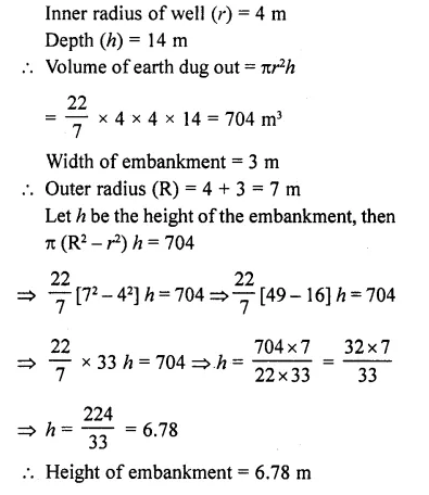 RD Sharma Class 10 Solutions Chapter 14 Surface Areas and Volumes Ex 14.1 31