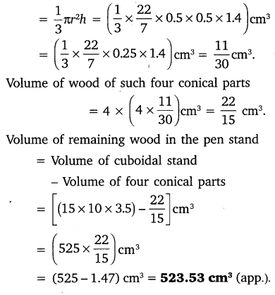 NCERT Solutions for Class 10 Maths Chapter 13 Surface Areas and Volumes 18