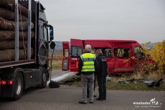 Verkehrsunfall Oestrich-Winkel 29.10.18