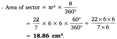 NCERT Solutions for Class 10 Maths Chapter 12 Areas Related to Circles 6