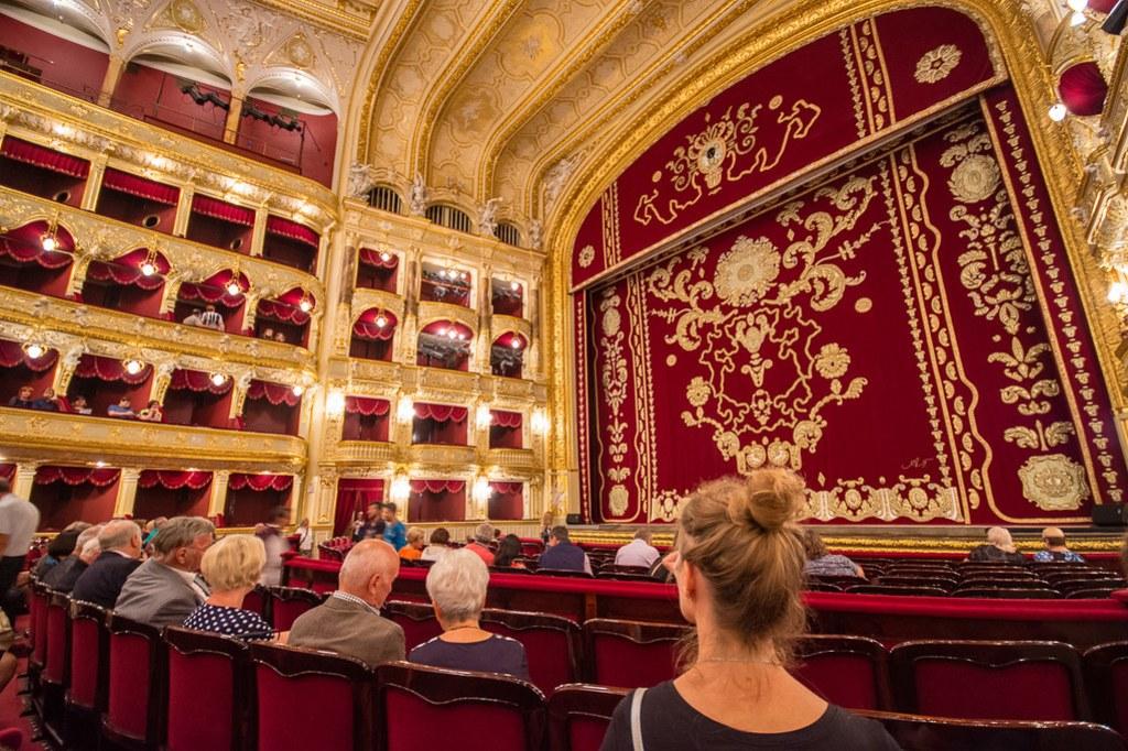 Odessa Opera Theatre Interior
