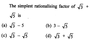 Rationalise Chapter 3 Class 9 RD Sharma Solutions