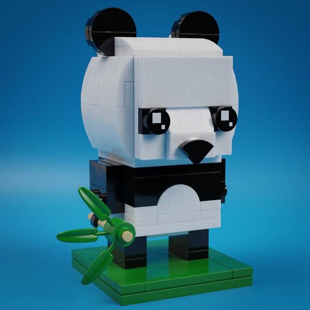 BrickHeadz Panda