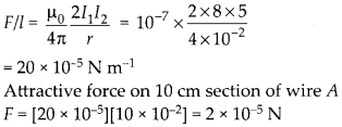 NCERT Solutions for Class 12 Physics Chapter 4 Moving Charges and Magnetism 8