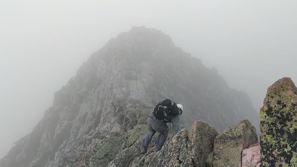 Windy Knife Edge on Mount Katahdin