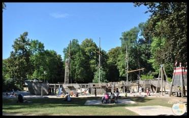 Luxemburgo con niños. Parque pirata