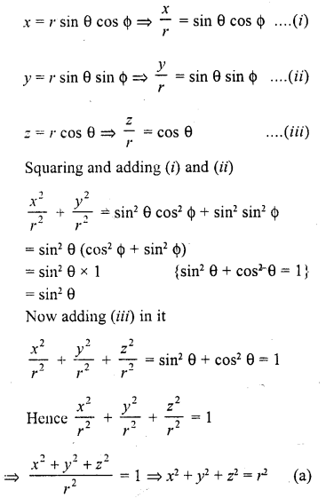 RD Sharma Class 10 Solutions Chapter 11 Trigonometric Identities MCQS - 19