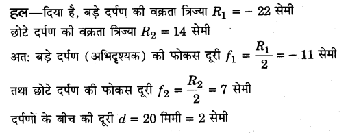 UP Board Solutions for Class 12 Physics Chapter 9 Ray Optics and Optical Instruments Q36.1