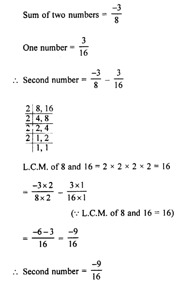 Selina Concise Mathematics class 7 ICSE Solutions - Rational Numbers-e2