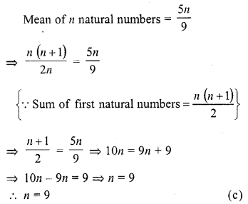 RD Sharma Class 10 Solutions Chapter 15 Statistics MCQS 24