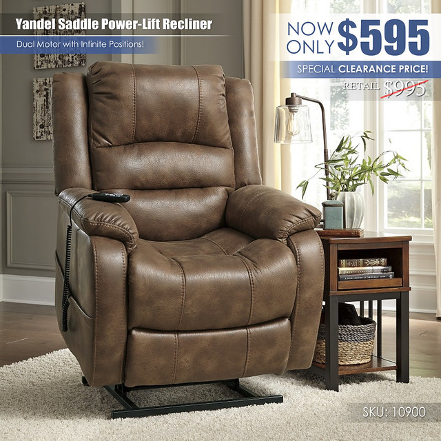 Yandel Saddle Power Lift Recliner_Clearance_10900