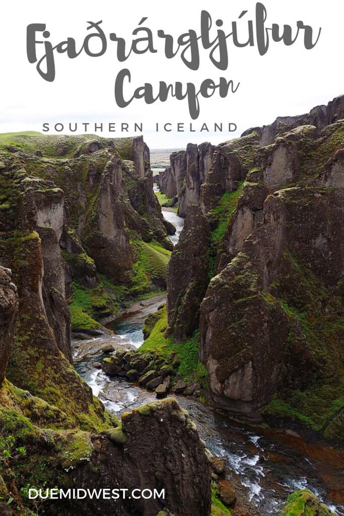 Fjaðrárgljúfur Canyon, Iceland - DueMidwest.com
