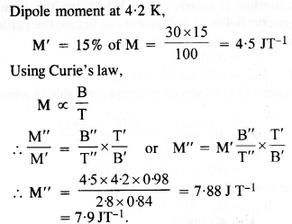 NCERT Solutions for Class 12 physics Chapter 5.30