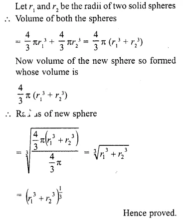 RD Sharma Class 10 Solutions Chapter 14 Surface Areas and Volumes  RV 35