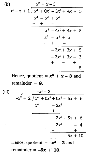 NCERT Solutions for Class 10 Maths Chapter 2 Polynomials e3 1a