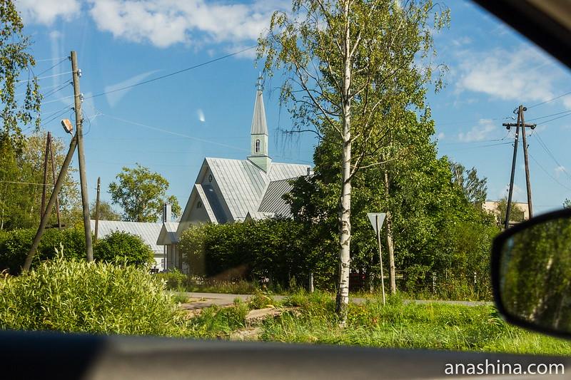 Лютеранская Церковь Святого Креста церкви Ингрии, Олонец