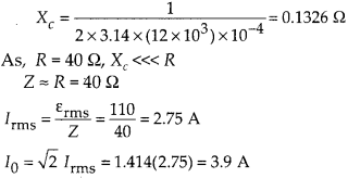 NCERT Solutions for Class 12 Physics Chapter 7 Alternating Current 34