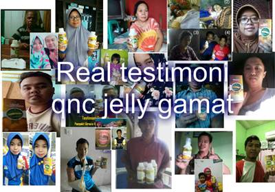 testimoni obat herbal qnc jelly gamat