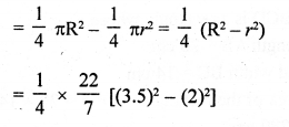 RD Sharma Class 10 Solutions Chapter 13 Areas Related to Circles Ex 13.4 - 19a