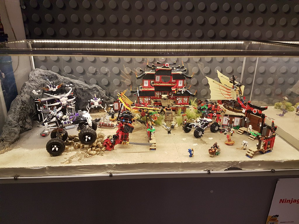 Ninjago Display @ 'Invasion of Giants' Exhibition