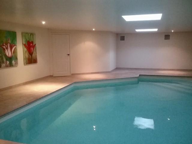 Binnenzwembad bungalow