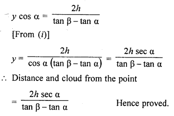 RD Sharma Class 10 Solutions Chapter 12 Heights and Distances Ex 12.1 - 67aa