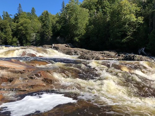 Lake Superior Park Sand river more waterfalls