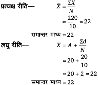 UP Board Solutions for Class 11 Economics Statistics for