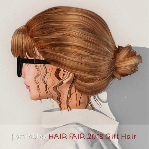 {amiable} HAIR FAIR 2018 GIFT HAIR.