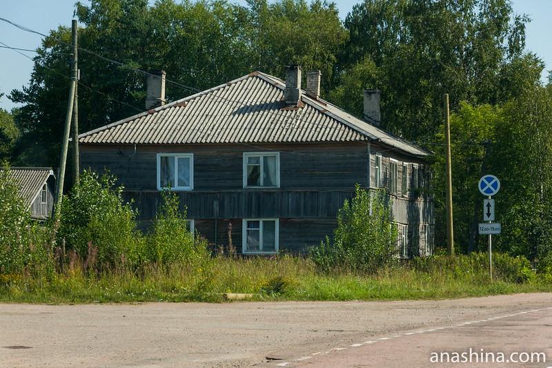 Деревянный дом, Карелия