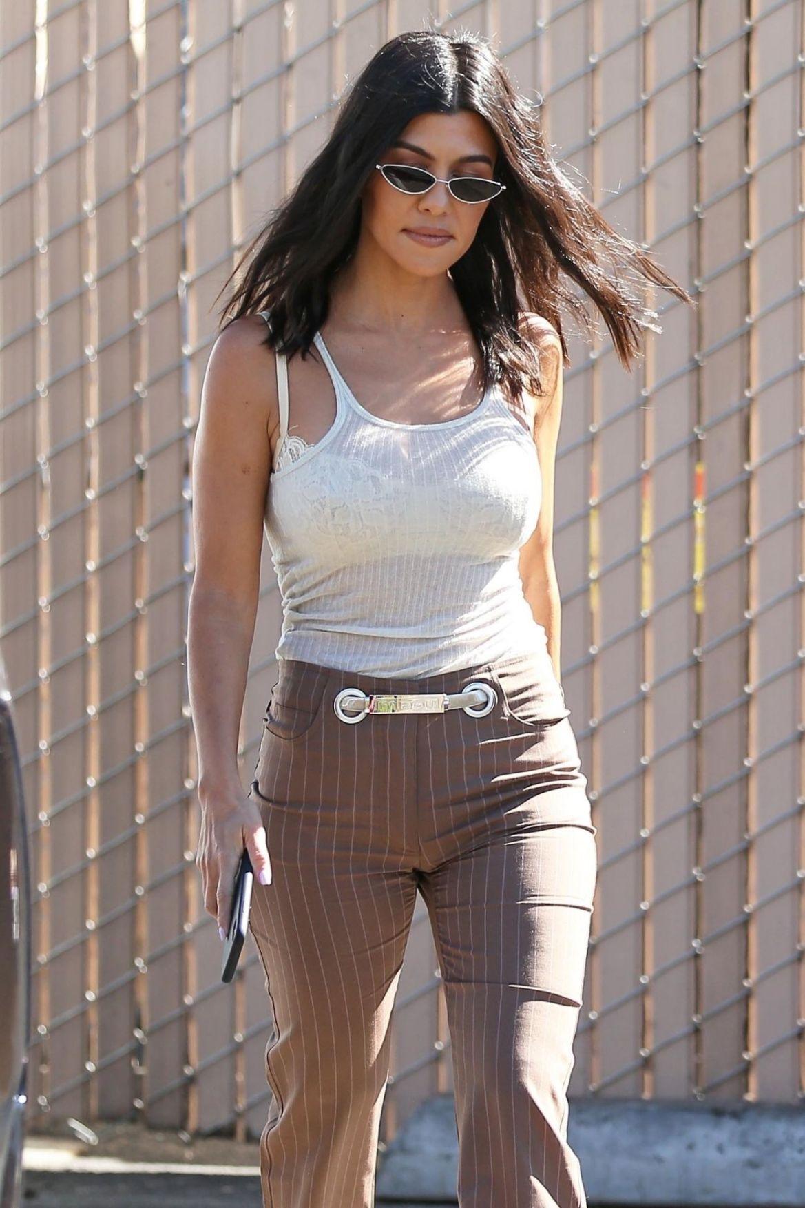 Kourtney Kardashian – Out in Los Angeles 2018