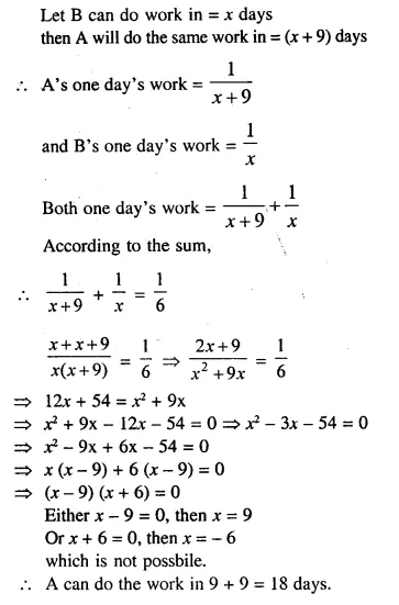Selina Concise Mathematics Class 10 ICSE Solutions Chapterwise Revision Exercise 29