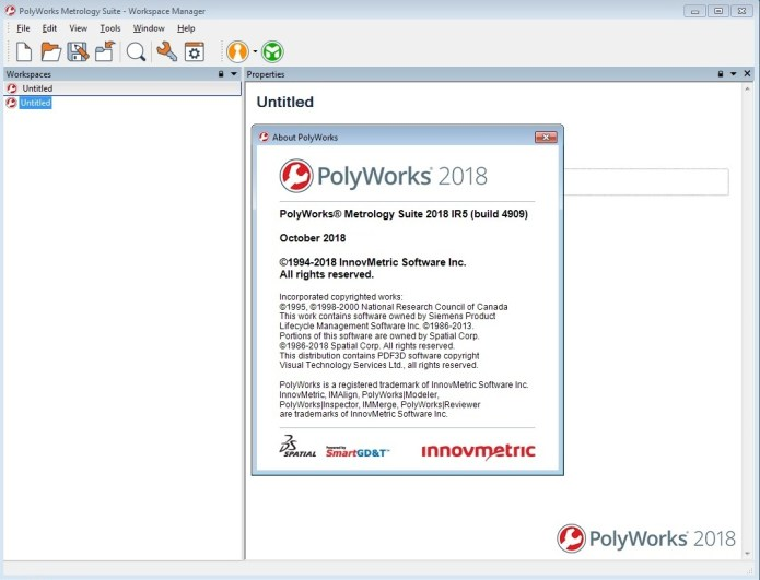 Working with InnovMetric PolyWorks Metrology Suite 2018 IR5 full license