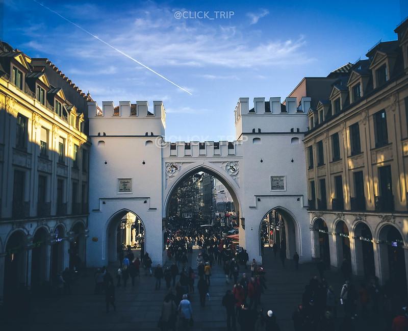 ¿Qué ver en Múnich? | La gran puerta de Karlstor | Karlsplatz | ClickTrip.ES